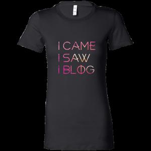 I Came, I Saw, I Blog